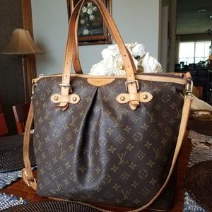 Authentic Louis Vuitton Palermo Monogram GM